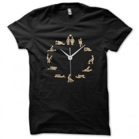 Shirt kamasutra time noir pour homme et femme