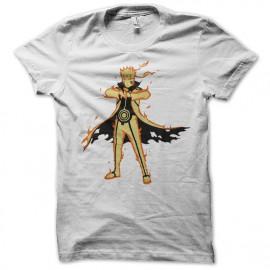 Shirt naruto uzumaki storm revolution blanc pour homme et femme