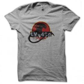 Shirt lv-426 alien gris pour homme et femme