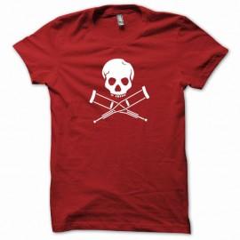Shirt Jackass nouveauté blanc/rouge pour homme et femme
