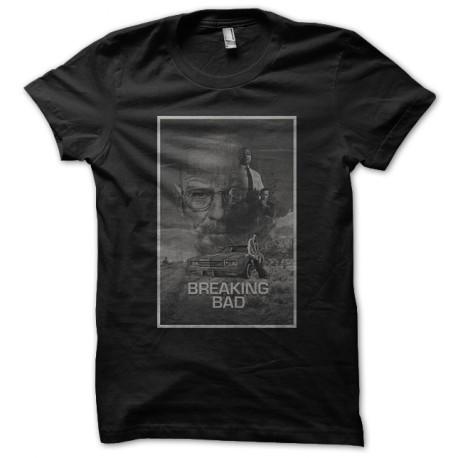 Shirt breaking bad affiche noir pour homme et femme