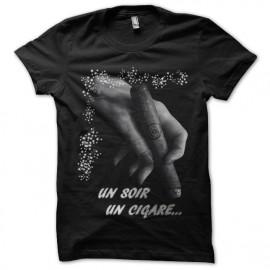 Shirt Un Soir, Un Cigare noir pour homme et femme