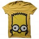 Shirt Bart Simpson jaune pour homme et femme