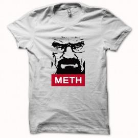 Shirt Breaking bad Heisenberg version interdite METH noir/blanc pour homme et femme