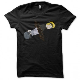 Shirt naruto sasuke black pour homme et femme