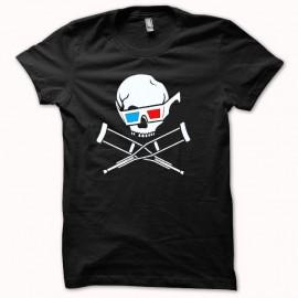 Shirt Jackass 3D original one blanc/noir pour homme et femme