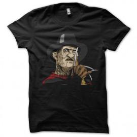 Shirt freddy krueger noir pour homme et femme