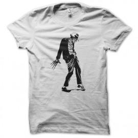 Shirt freddy krueger dance michael jackson blanc pour homme et femme
