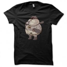 Shirt batman bouffeur de fast food noir pour homme et femme