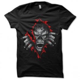 Shirt Zombie effets noir pour homme et femme