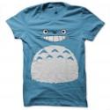 Shirt totoro happy bleu ciel pour homme et femme