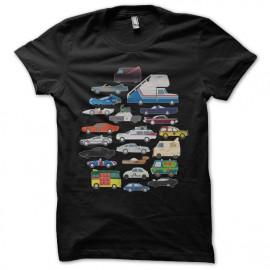 Shirt Pop Culture voiture noir pour homme et femme