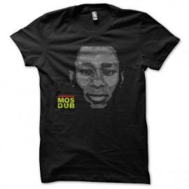 Shirt mos dub noir pour homme et femme