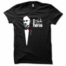 Shirt vito corleone el padrino the godfather blanc/noir pour homme et femme