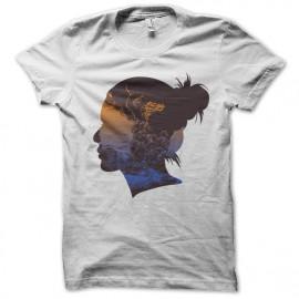 Shirt elder brother artistique blanc pour homme et femme