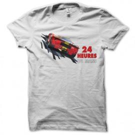 Shirt 24 Heures du mans blanc pour homme et femme