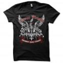 Shirt chrome division infernal rock eternal noir pour homme et femme