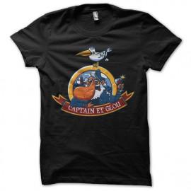 Shirt Captain et glou noir pour homme et femme