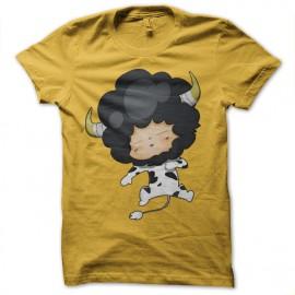 Shirt Sleepy Lambo jaune pour homme et femme