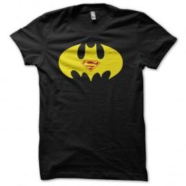 Shirt Batman vs superman parodie humoristique jaune/noir pour homme et femme