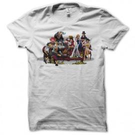 Shirt one piece mode classe blanc pour homme et femme