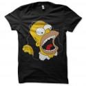 Shirt Homer Simpson beuaaa noir pour homme et femme