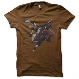 Shirt uchiha madara marron pour homme et femme