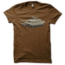 Shirt m1 abrams marron pour homme et femme
