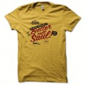 Shirt Breaking bad mytique better call saul jaune pour homme et femme