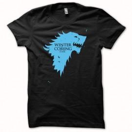 Shirt stark blason Game of thrones bleu/noir pour homme et femme