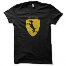 Shirt ferrari parodie noir pour homme et femme