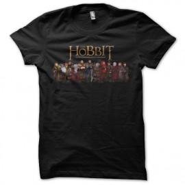 Shirt the hobbit version animé noir pour homme et femme