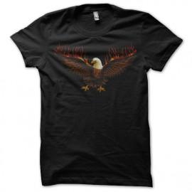 Shirt eagle noir pour homme et femme