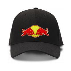 casquette red bull brodée de couleur noire