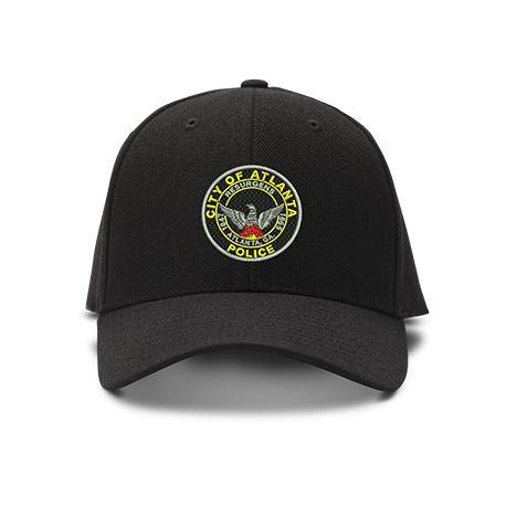 casquette POLICE city of atlanta brodée de couleur noire