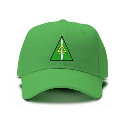 casquette DELTA FORCE brodée de couleur verte