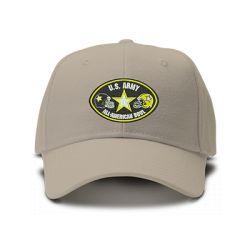 casquette U.S ARMY brodée de couleur beige