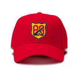 casquette ARTILLERIE U.S brodée de couleur rouge