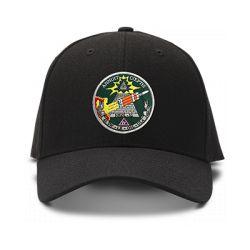 casquette ILLUMINATI ARMY brodée de couleur noire