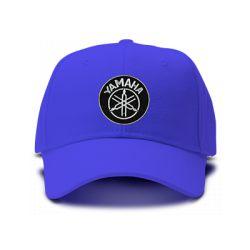 casquette YAMAHA brodée de couleur bleu royal