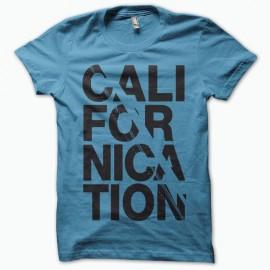 Shirt Californication série tv noir/bleu pour homme et femme