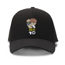 casquette BEN10 brodée de couleur noire