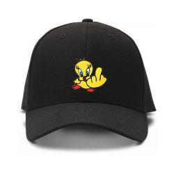 casquette TITI FUCK brodée de couleur noire