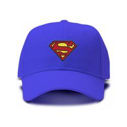 casquette SUPERMAN classic brodée de couleur bleu royal