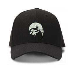 casquette BATMAN BD classic brodée de couleur noire