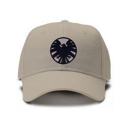 casquette SHIELD COMICS LOGO classic brodée de couleur noire
