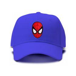 casquette SPIDERMAN FIGURE classic brodée de couleur bleu royal