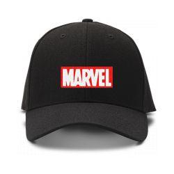 casquette MARVEL brodée de couleur noire