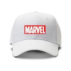 casquette MARVEL brodée de couleur blanche
