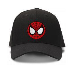 casquette SPIDERMAN brodée de couleur noire